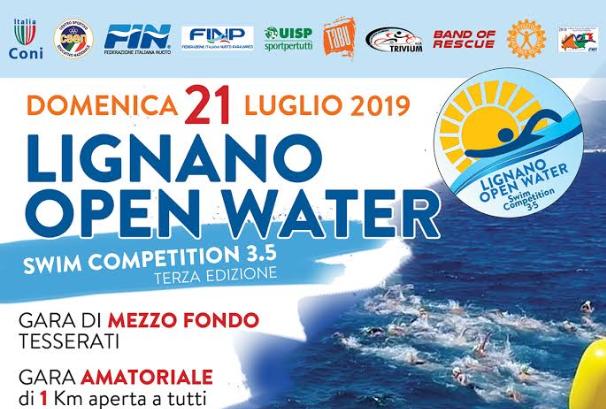 Lignano Open Water Swim Competition